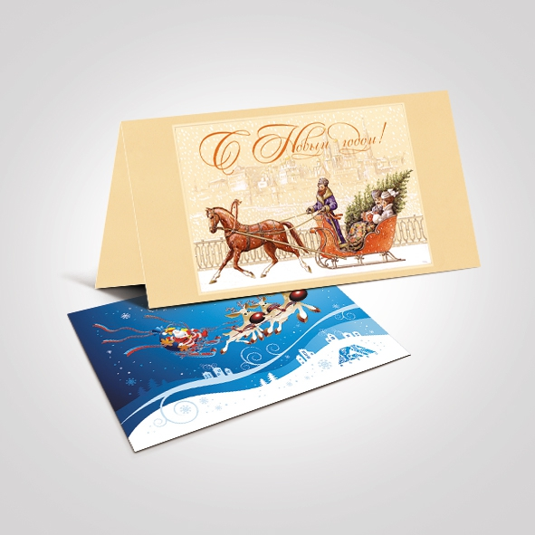 Изготовление открытки на заказ в спб
